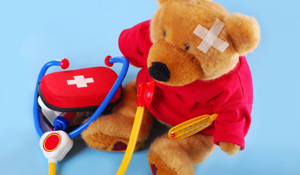 Teddy image for Paediatric courses